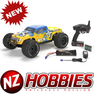 ECX ECX03016 Ruckus RTR 1/10 4WD Brushless Monster Truck w/ AVC / DX2E