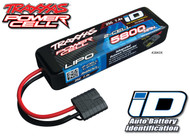 Traxxas 2843X 2S 7.4V 5800mAh 25C LiPo Battery w/iD Connector : Slash / Funny Car