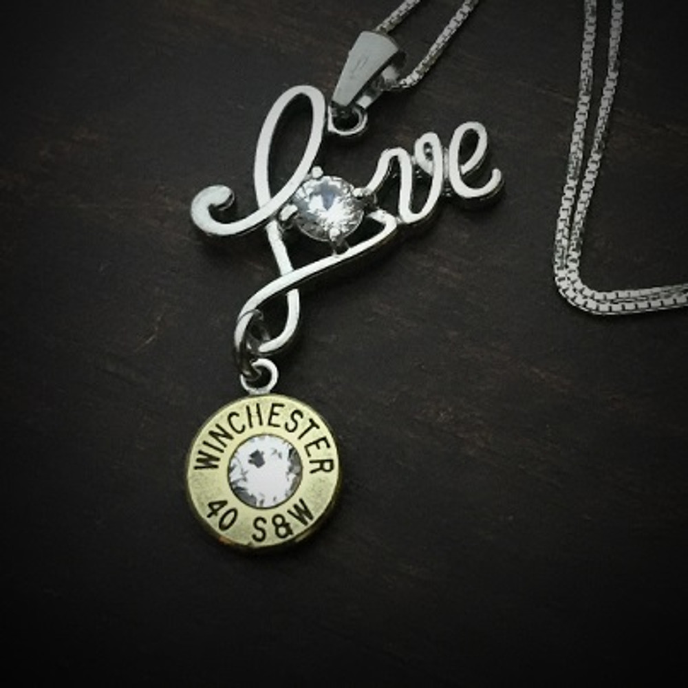 Love Bullet Necklace