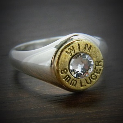 Markswoman Bullet Ring