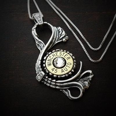 Antique Bullet Necklace