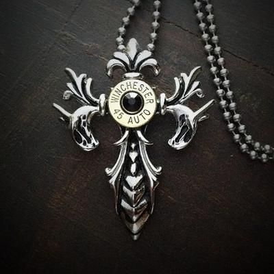 Hidden Dragon Bullet Necklace