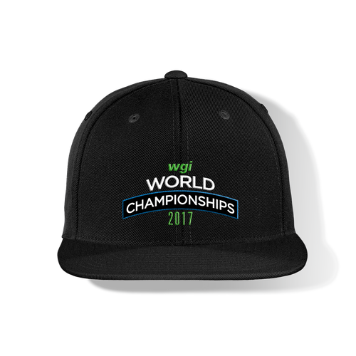 WGI World Championship Flat Bill Cap