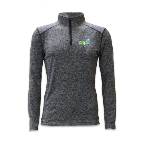 WGI Logo Performance 1/4 Zip T-Shirt