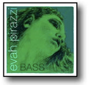 Evah Pirazzi Bass String Set Medium Orchestra with E and Low B String Extensions