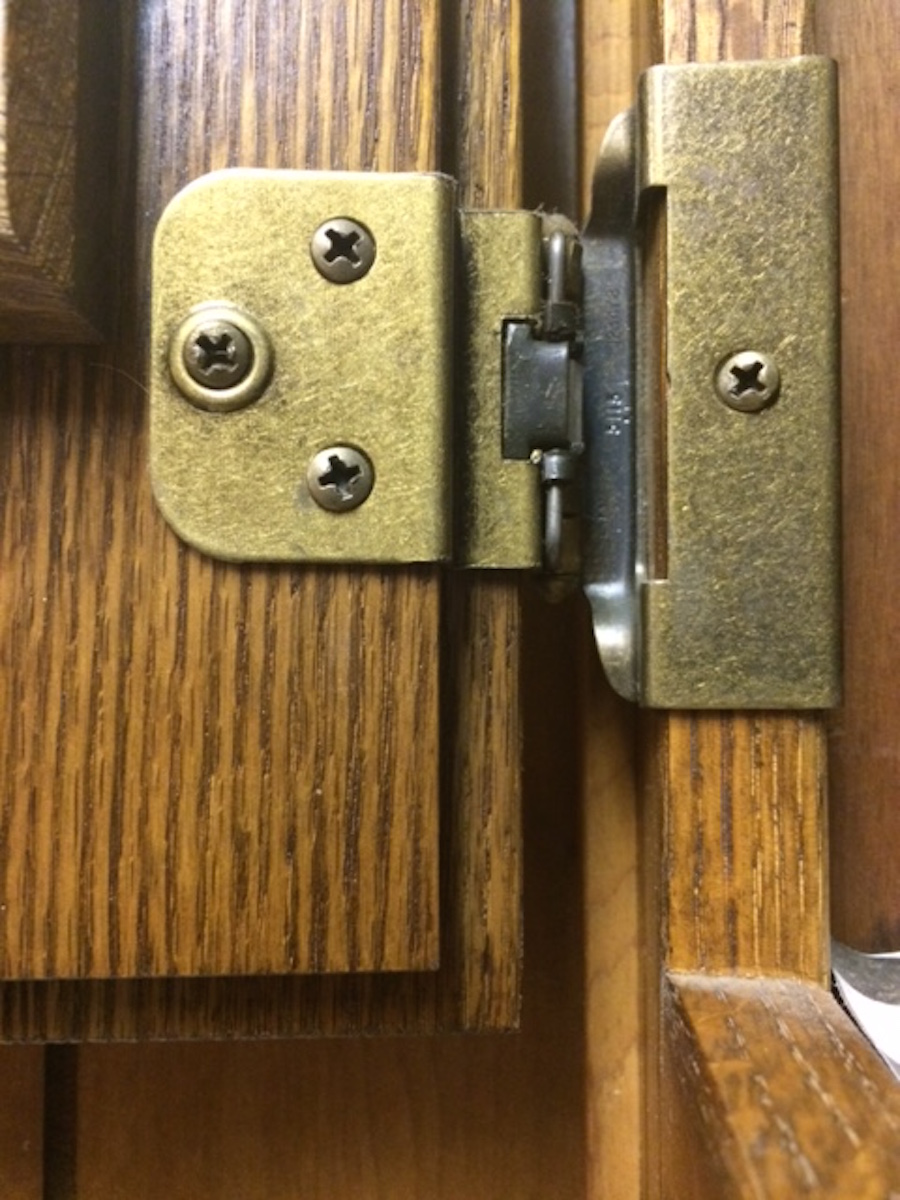 Concealed cabinet door hinges images for Concealed door hinges