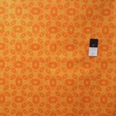 Mark Cesarik PWMC020 Cosmic Burst Solar Panels Orange Fabric By The Yard