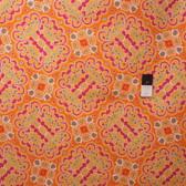 Mark Cesarik PWMC021 Cosmic Burst Gamma Ray Orange Fabric By The Yard