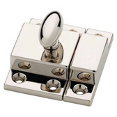 "P21221C-PN  2"" Polished Nickel Matchbox Catch"