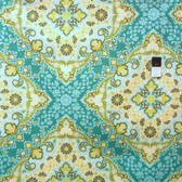 Joel Dewberry PWJD065 Notting Hill Kaleidoscope Basil Cotton Fabric By Yd