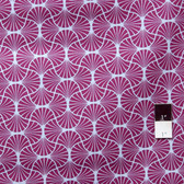 Joel Dewberry JD54 Heirloom Empire Weave Amethyst Cotton Fabric By Yd