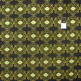 Ty Pennington PWTY029 Collision Black Cotton Fabric By The Yard