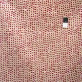 David Walker PWDW096 Winter Wonderland Peppermint Sticks Nutmeg Cotton Fabric By Yard