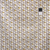 Denyse Schmidt PWDS078 Hadley Chain Link Floral Sunflower Fabric By The Yard