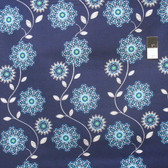 Ty Pennington PWTY034 Flora Eventide Cotton Fabric By The Yard