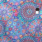 Kaffe Fassett PWGP092 Millefiore Aqua Cotton Fabric By The Yard