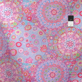 Kaffe Fassett PWGP092 Millefiore Pink Cotton Fabric By The Yard