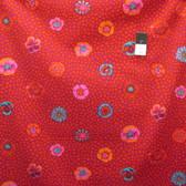 Kaffe Fassett PWGP059 Guinea Flower Red Cotton Fabric By The Yard