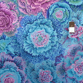 Philip Jacobs PWPJ051 Brassica Blue Cotton Quilting Fabric By Yard
