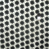 Heather Bailey True Colors PWTC035 Smashtag Onyx Cotton Fabric By The Yard