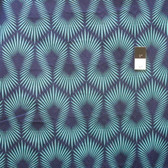 Heather Bailey True Colors PWTC037 Spark Sapphire Cotton Fabric By The Yard