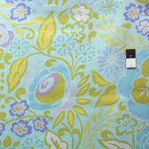 Dena Designs PWDF112 Taza Caroline Blue Cotton Fabric By The Yard