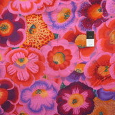 Philip Jacobs PWPJ071 Gloxinias Pink Cotton Quilting Fabric By Yard