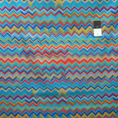 Brandon Mably PWBM043 Zig Zag Cool Quilting Cotton Fabric By The Yard