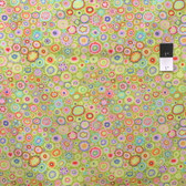Kaffe Fassett GP20 Paperweigh​t Lime Cotton Fabric By The Yard