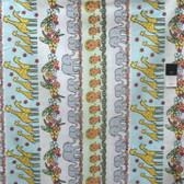 Timeless Treasures C3350 Fun Safari Stripe Multi Cotton Fabric By Yard