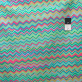 Brandon Mably PWBM043 Zig Zag Aqua Quilting Cotton Fabric By The Yard