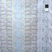 Dena Designs PWDF138 The Painted Garden Heather Grey Cotton Fabric By Yard