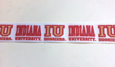 "Indiana University Grosgrain Ribbon 10 Yds 1 1/2"" Wide"