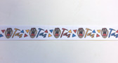 "Taz Tasmanian Devil Looney Tunes Grosgrain Ribbon 10 Yards 7/8"" Wide"