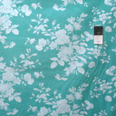 Tanya Whelan PWTW142 Shade Of Rose Toile Teal Cotton Fabric By The Yard