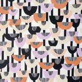 Erin McMorris PWEM068 Distrikt Echo Apricot Fabric By The Yard