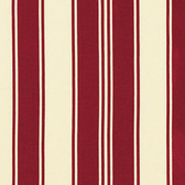 Tanya Whelan Petal French Stripe Red Sateen Home Decor Fabric By Yard