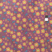 Kathy Doughty PWMO003 Flock Together Field Of Flowers Contemporary Fabric By Yd