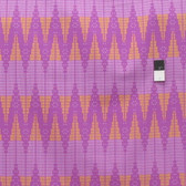 Joel Dewberry PWJD133 Cali Mod Ziggie Lavender Cotton Quilting Fabric By Yd