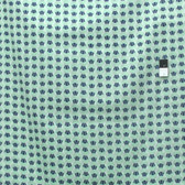 Heather Bailey Voile VOHB005 Momentum Wave Aqua Cotton Fabric By Yard