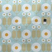 Joel Dewberry SAJD036 Wander Prairie Bloom Maize Cotton HOME DECOR Sateen Fabric