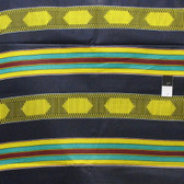 African Tribal Kente Print T-5031 Polished Cotton Fabric By The Yard