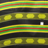 African Tribal Kente Print T-5034 Polished Cotton Fabric By The Yard
