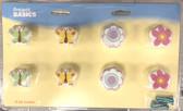 Liberty 085-03-0130 Bohemian Bloom Resin Cabinet Drawer Knob 8 Pack