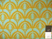 Drawing Room Home Dec HDAH07 Plume Teal Fabric By The Yd