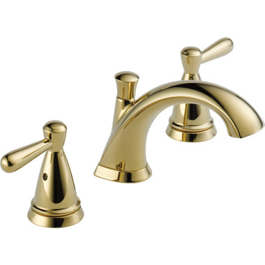 Peerless Bayside P99140LF-PB 2 Handle Widespread Bathroom Faucet ...