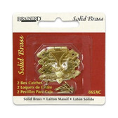 Brainerd 865XC Box Catch Solid Brass Pack of 2