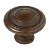 "Liberty 142968 1 3/8"" Jackson Cabinet Drawer Knob Rust Finish"