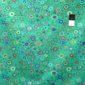 Kaffe Fassett PWGP01 Roman Glass Emerald Cotton Fabric By The Yard