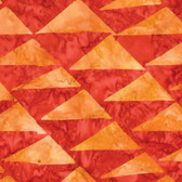 Kaffe Fassett BKKF003 Artisan Batik Flags Orange Cotton Fabric By The Yard